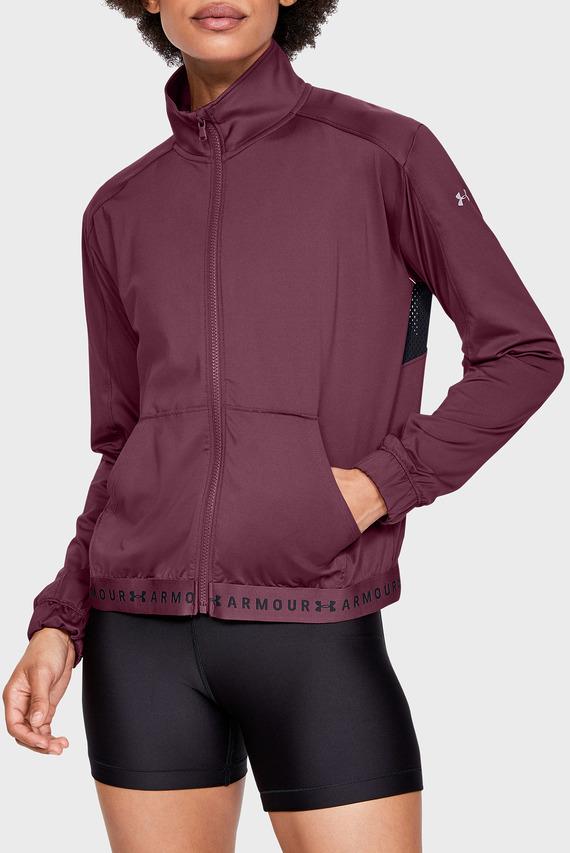 Женская фиолетовая куртка UA HEATGEAR® FULL ZIP