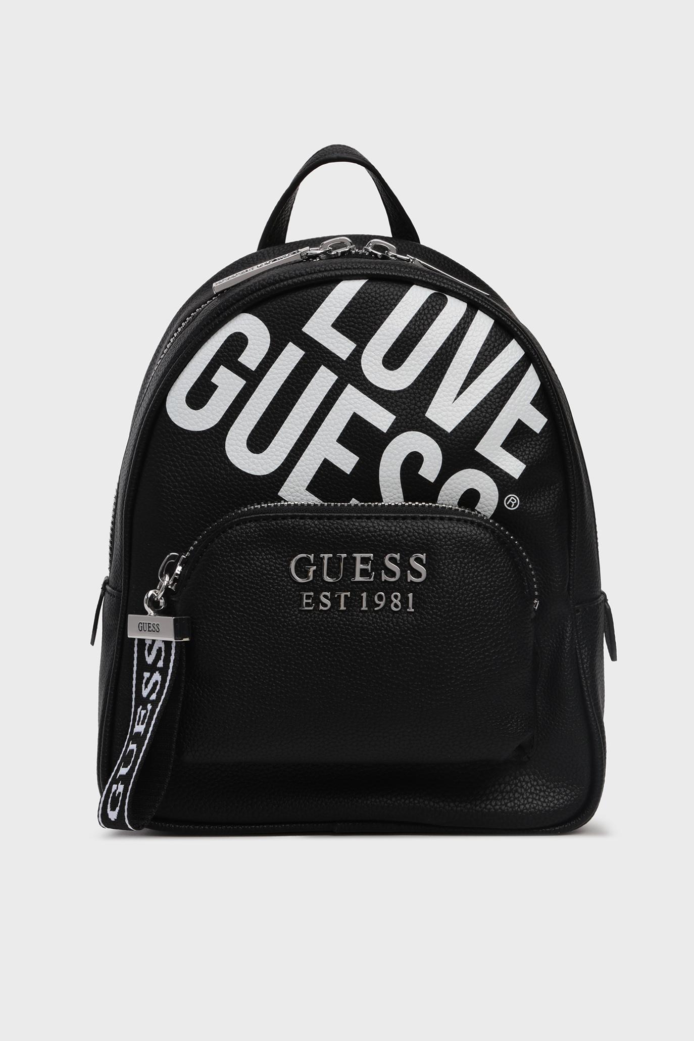 Женский черный рюкзак HAIDEE Guess