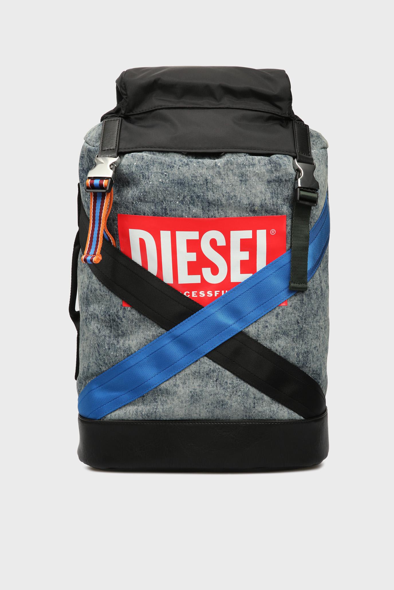 13c106aca Купить Мужской голубой джинсовый рюкзак Diesel Diesel X05792 P1599 – Киев,  Украина. Цены в интернет магазине MD Fashion