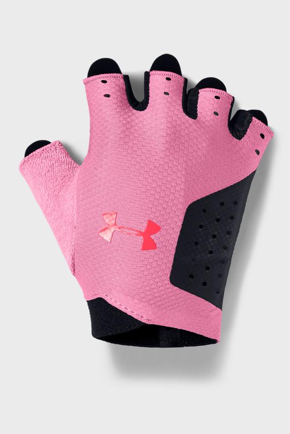 Женские черные перчатки UA Women's Training Glove-BLK