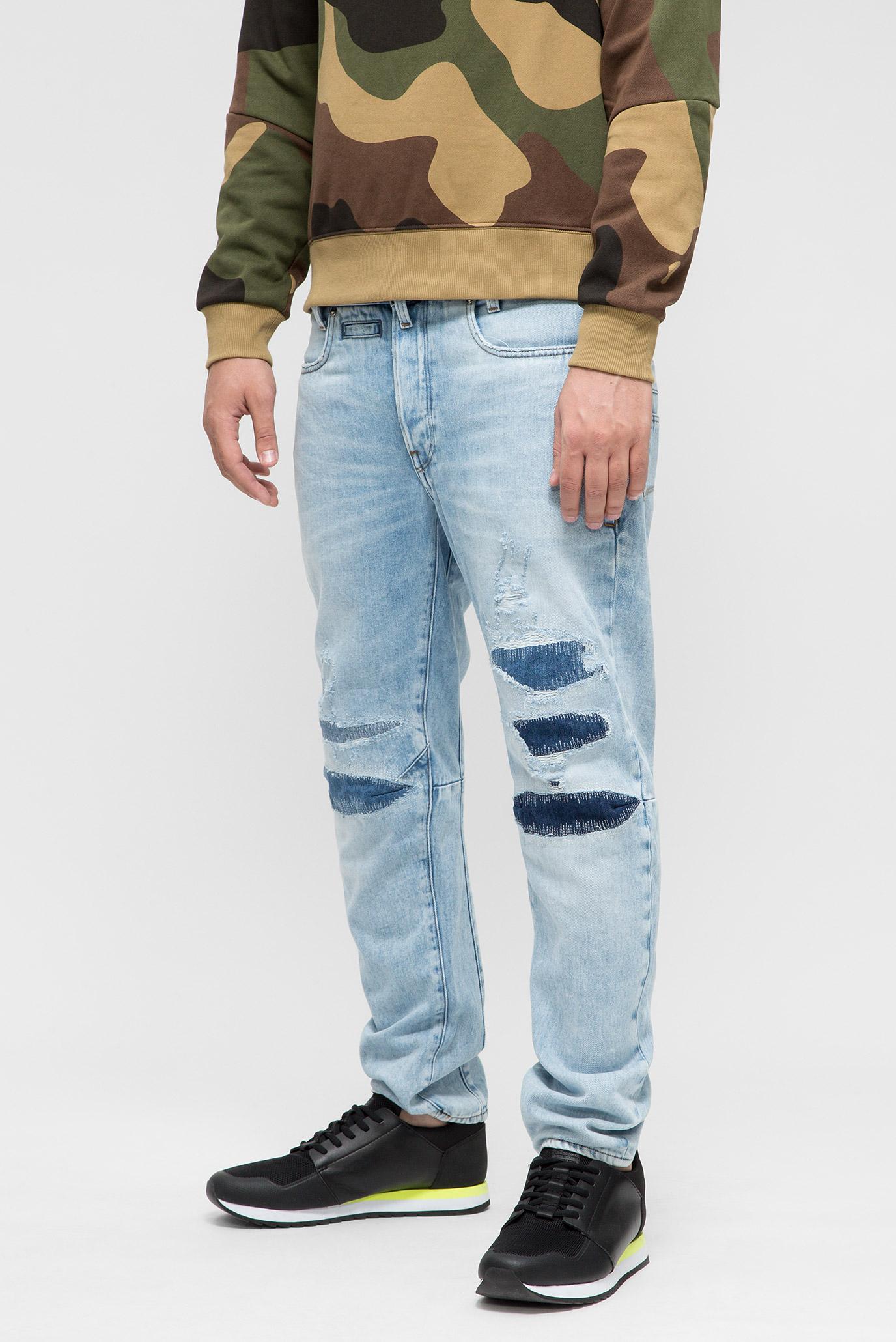 Купить Мужские голубые джинсы D-Staq 3D Tapered 3dr G-Star RAW G-Star RAW D08363,9169 – Киев, Украина. Цены в интернет магазине MD Fashion