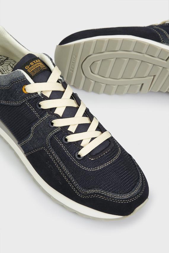 Мужские темно-синие кроссовки Calow Denim II