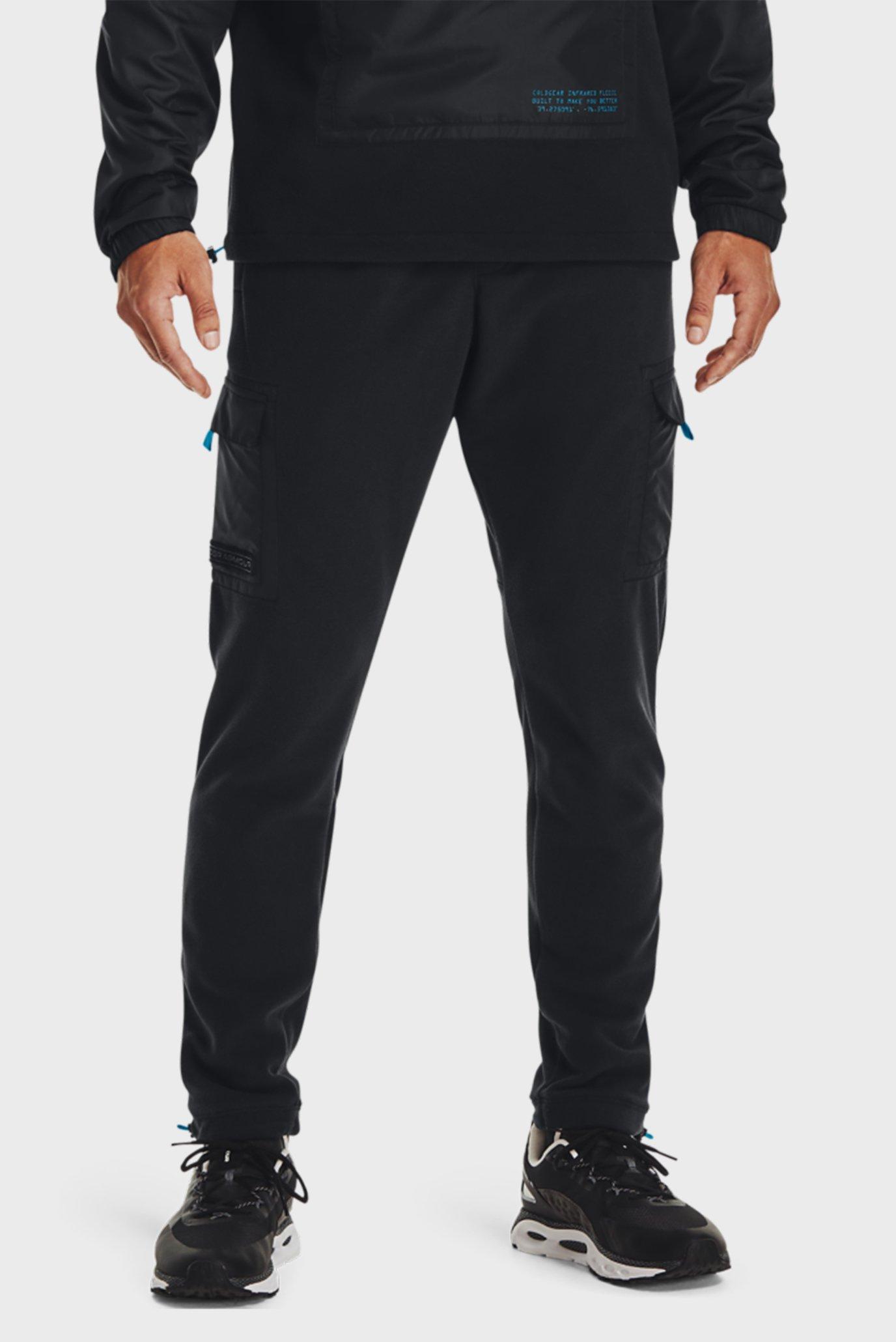 Мужские черные спортивные брюки UA CGI UTILITY CARGO PANT 1