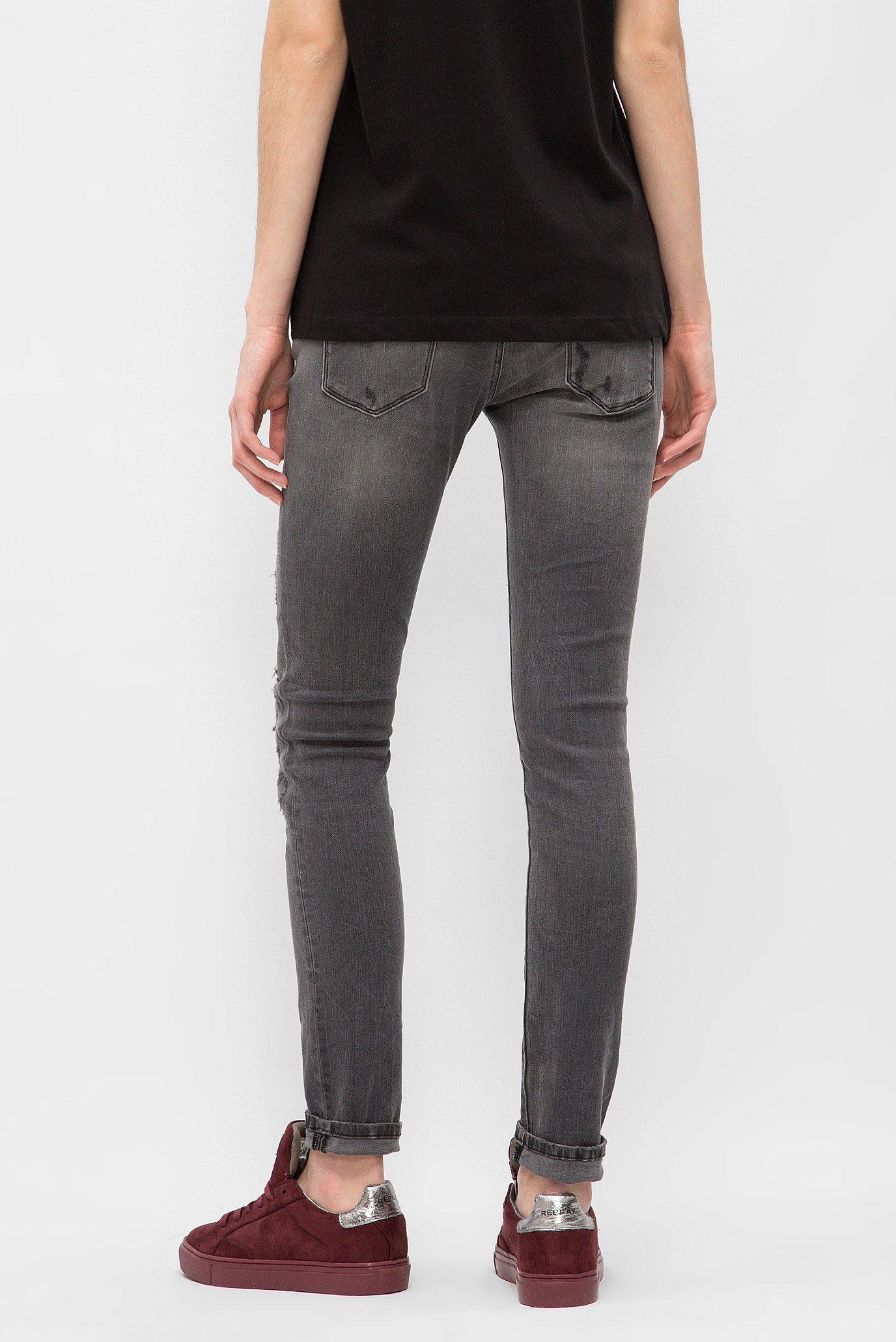 Женские серые джинсы Replay