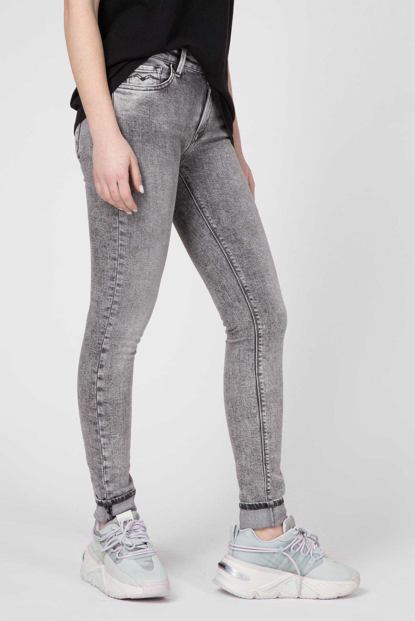 Женские серые джинсы NEW LUZ Replay