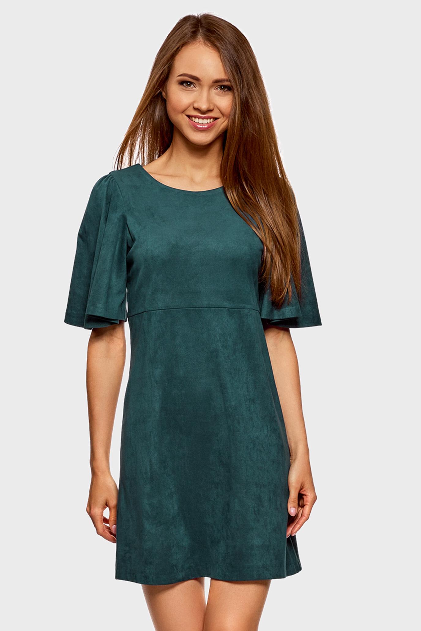 Купить Женское зеленое платье Oodji Oodji 18L11001 45622 6C00N – Киев,  Украина. Цены в интернет магазине MD Fashion bcb93ae9aac