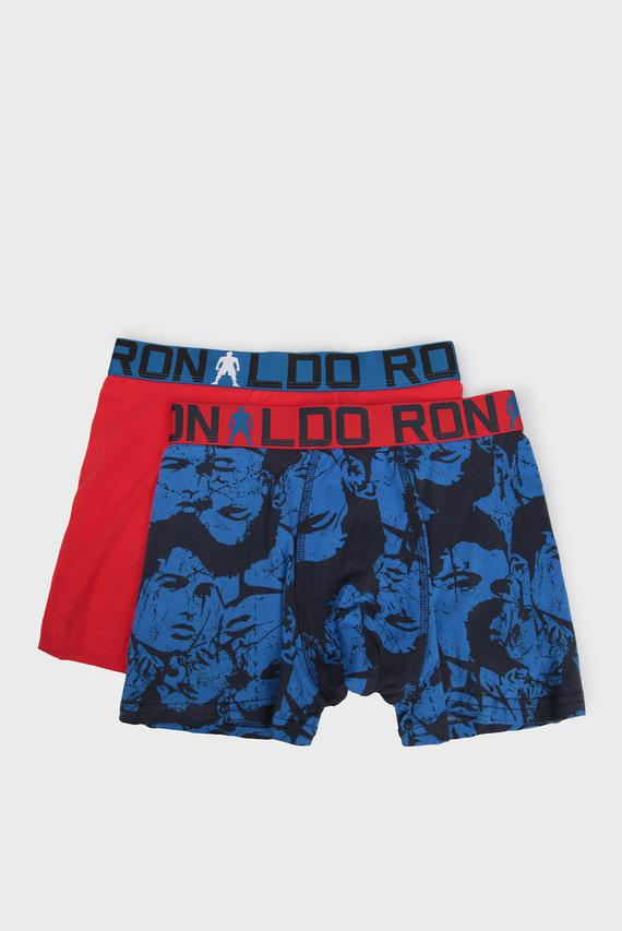 Детские хлопковые боксеры (2 шт) 518