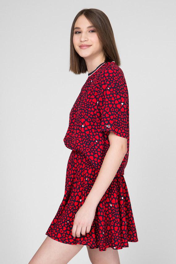 Женская блуза с принтом TJW HEART PRINT TOP