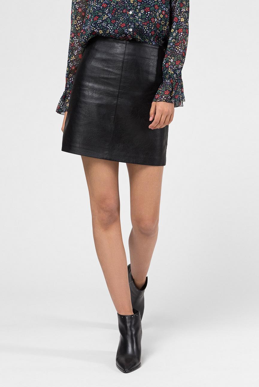 Женская черная юбка HENAR