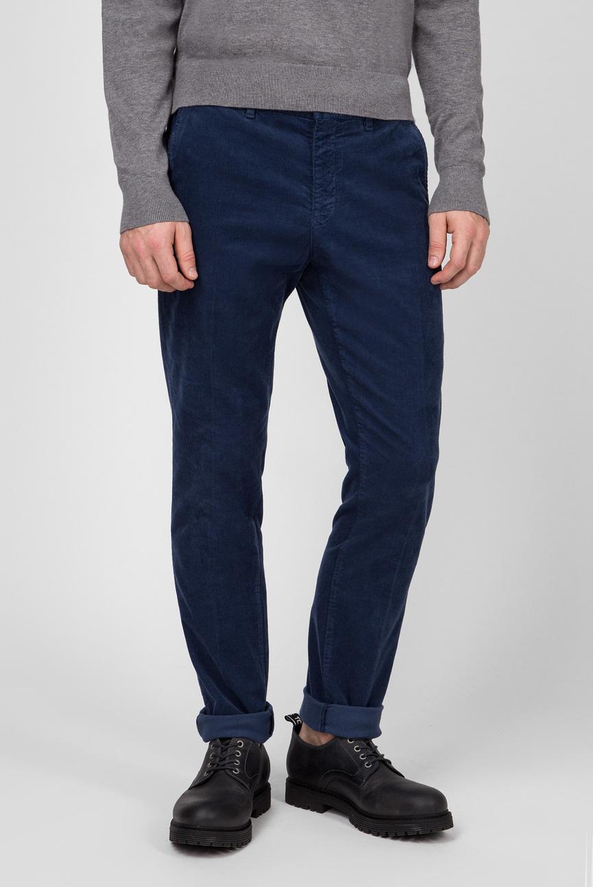 Мужские синие вельветовые брюки STRAIGHT DENTON CHINO