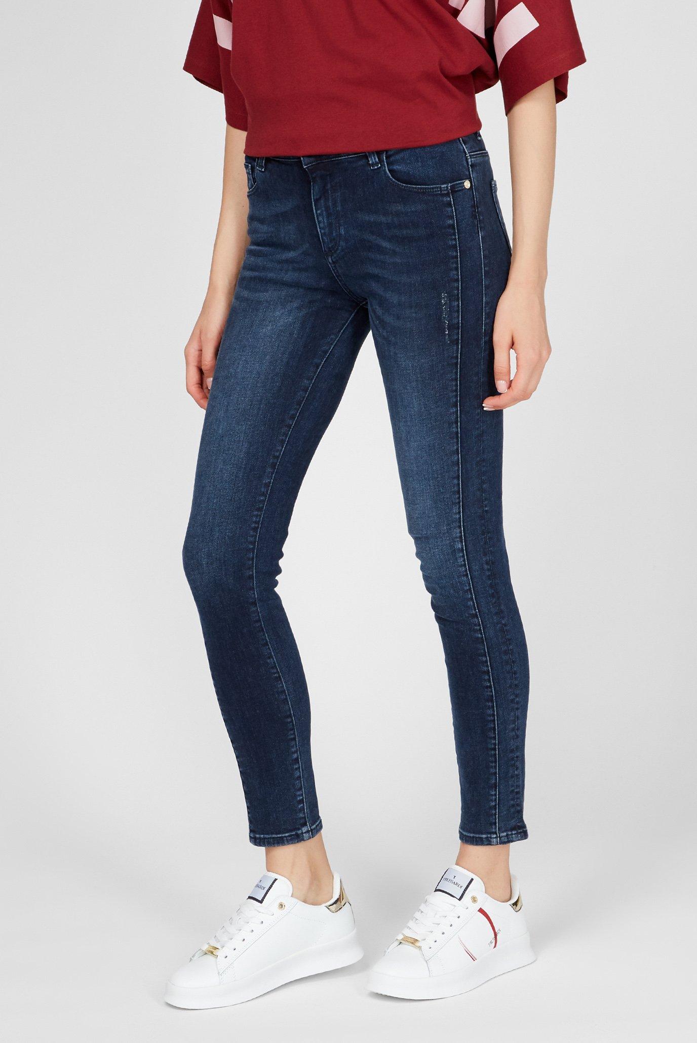 Женские синие джинсы 206 Skinny Trussardi Jeans
