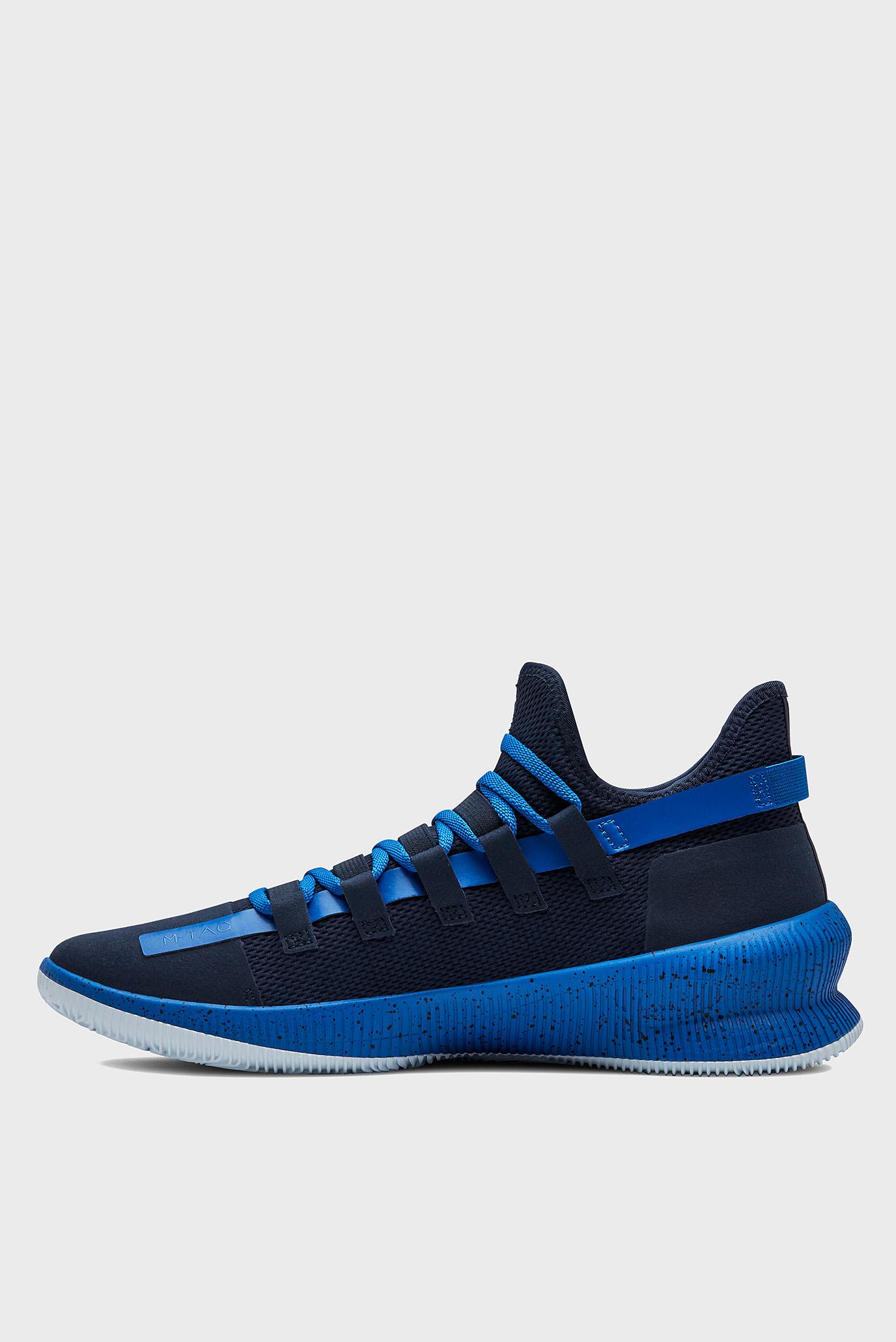 Купить Мужские синие кроссовки для баскетбола UA M-TAG Low Under Armour Under Armour 3021800-400 – Киев, Украина. Цены в интернет магазине MD Fashion