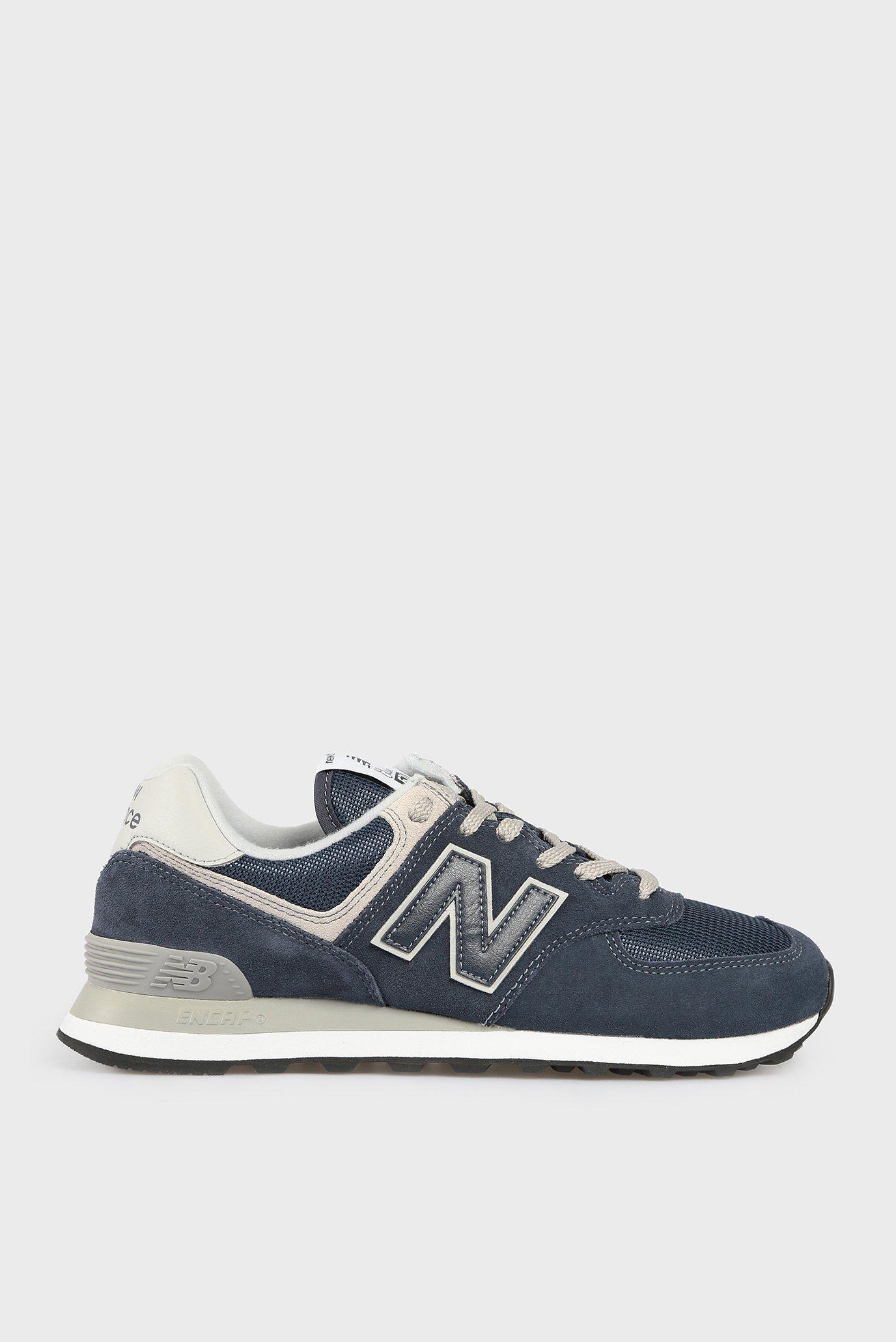 Купить Мужские темно-синие замшевые кроссовки 574 New Balance New Balance  ML574EGN – Киев 5d20d42ac8440