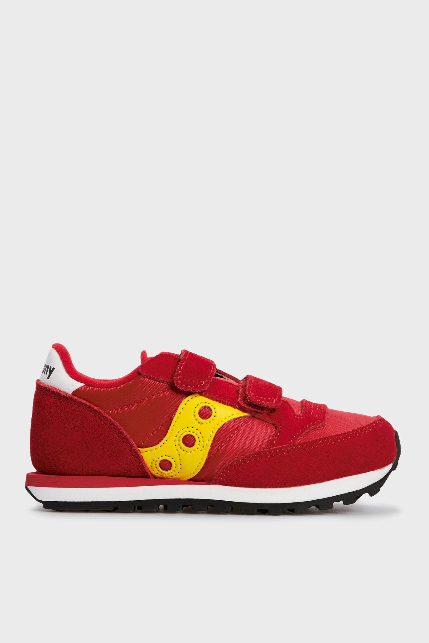 Детские красные замшевые кроссовки Jazz Double HL 1