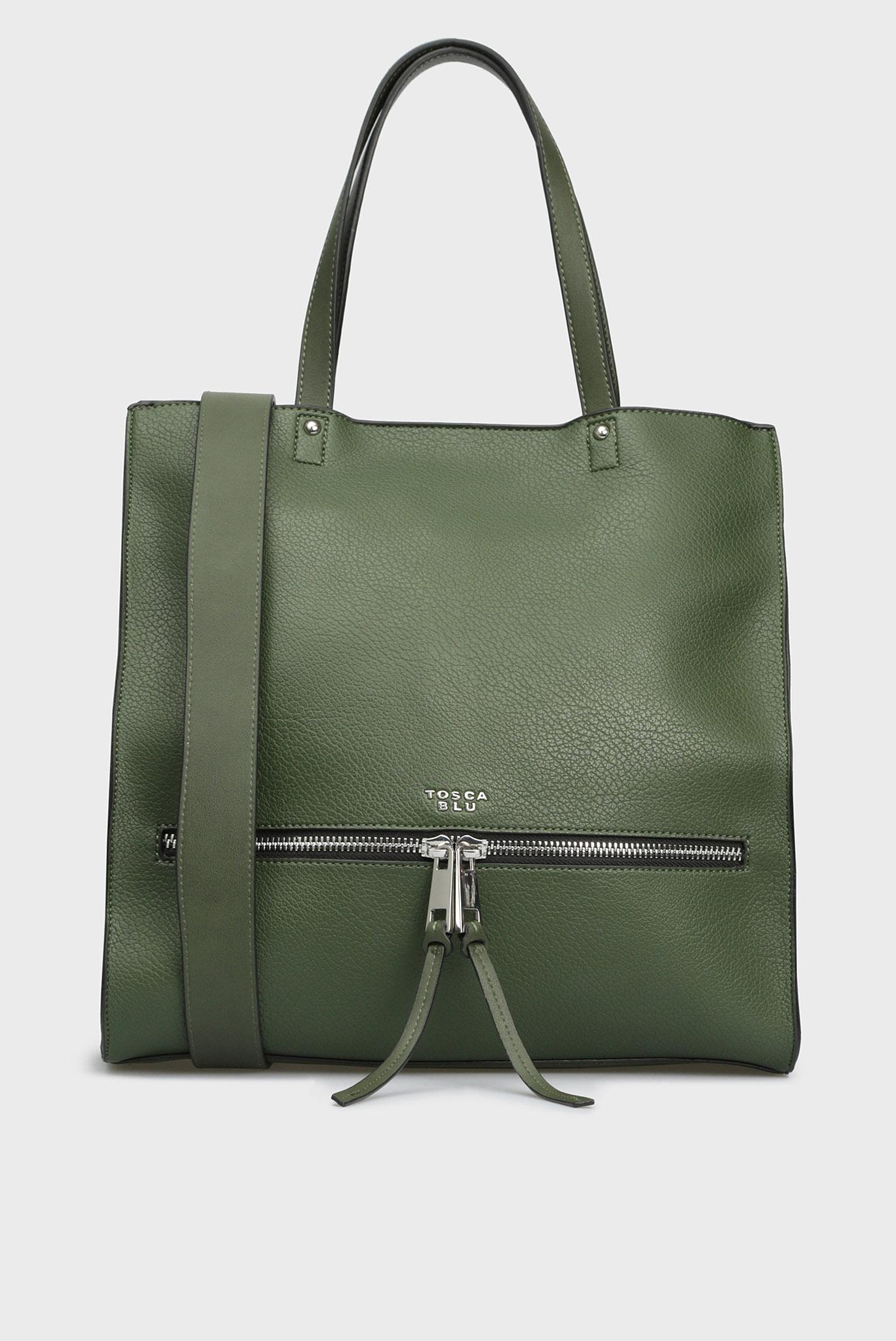 d7b412d80940 Купить Женская зеленая сумка на плечо Tosca Blu Tosca Blu TF1818B05 – Киев,  Украина. Цены в интернет ...
