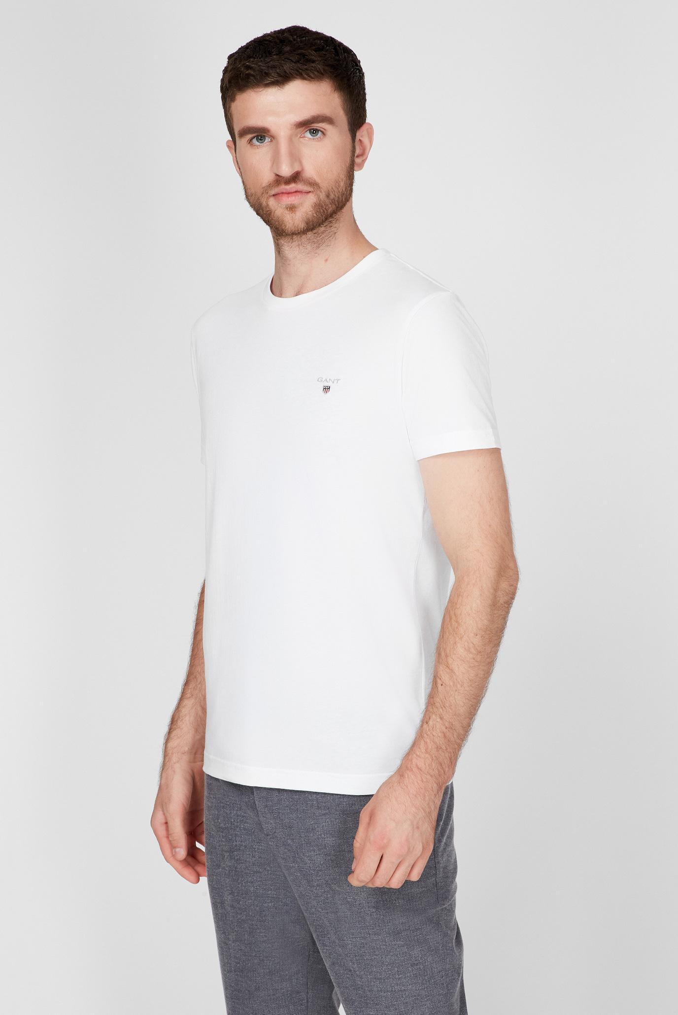 Мужская белая футболка ORIGINAL SLIM 1