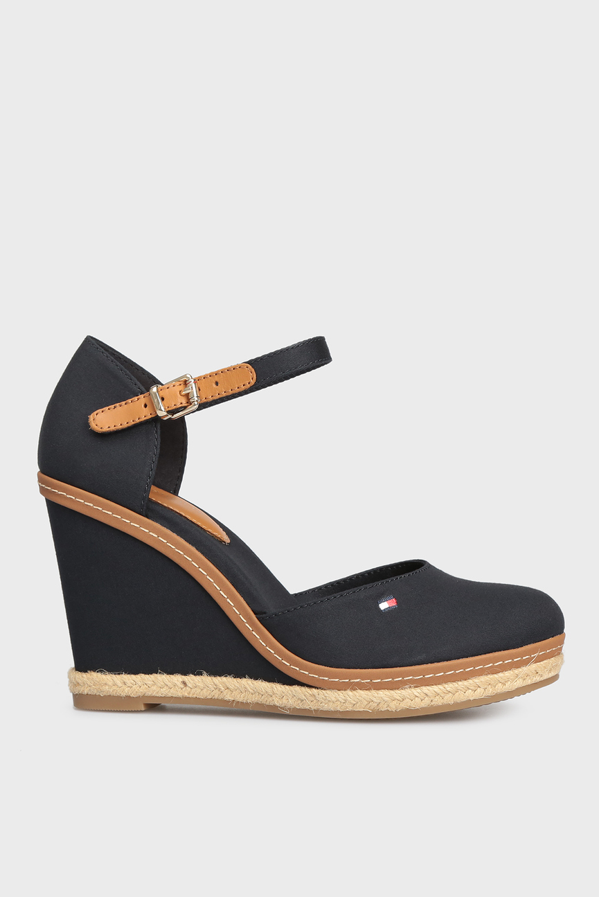 Женские темно-синие туфли