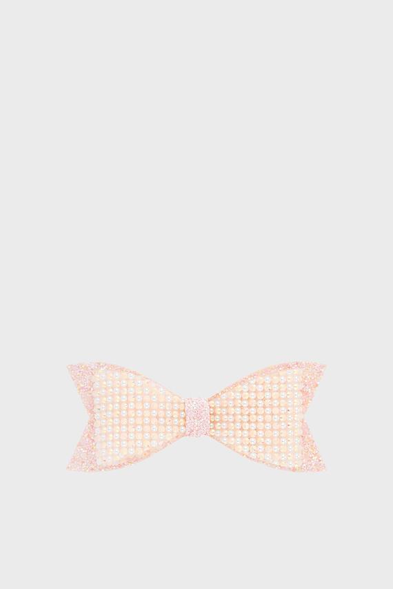 Детская розовая заколка Bonnie Dazzle Bow