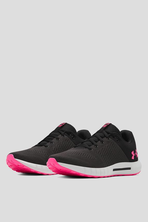 Женские черные кроссовки UA W Micro G Pursuit