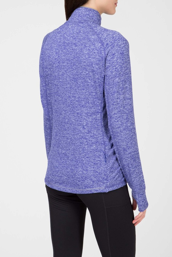 Женская синяя спортивная кофта