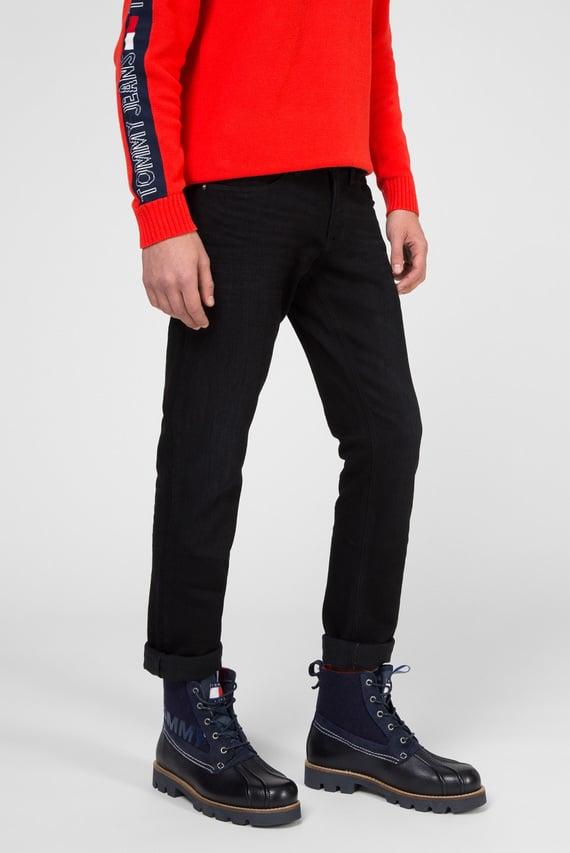 Мужские черные джинсы SLIM SCANTON