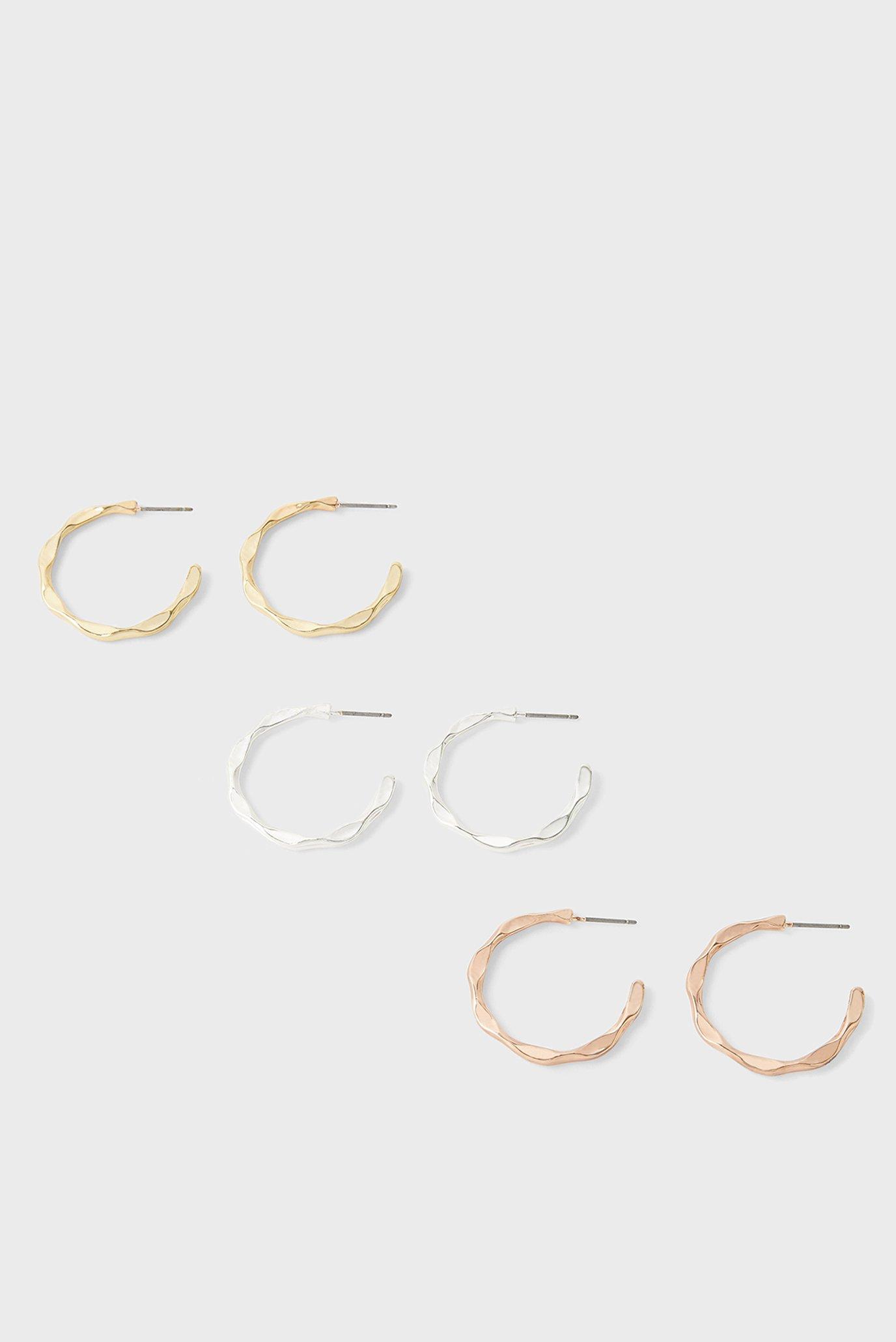Жіночі сережки (3 пари) 1