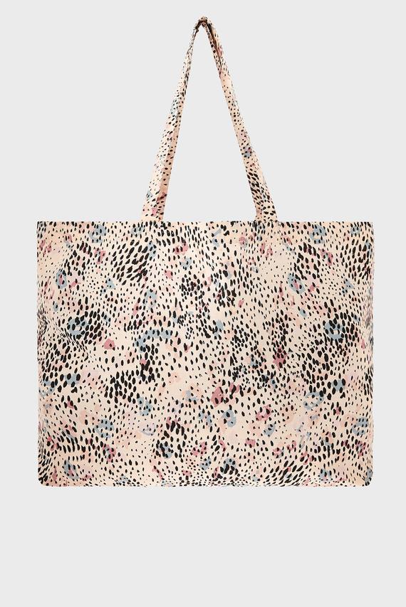 Женская сумка на плечо ANIMAL PRINT ORGANIC SHOPPER
