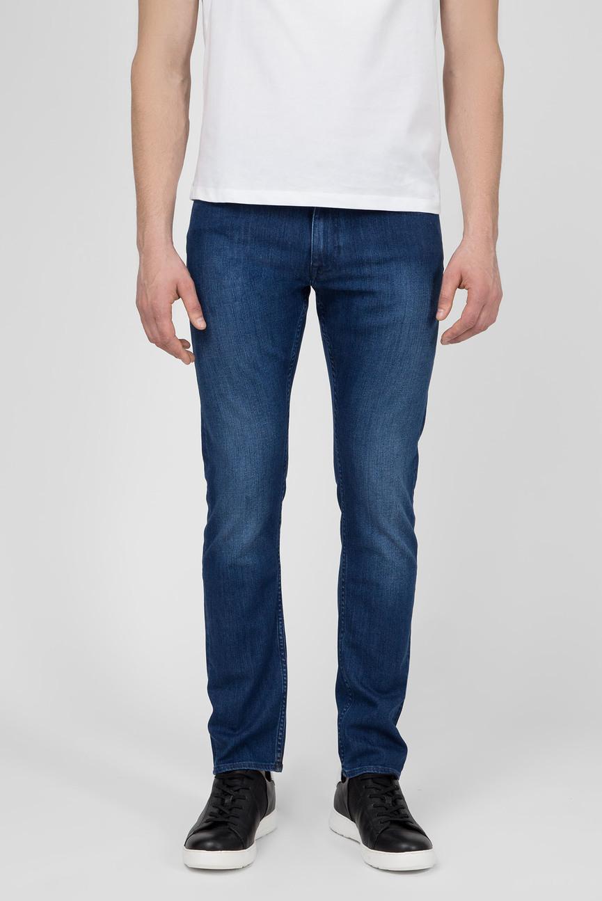 Мужские синие джинсы SLIM FIT