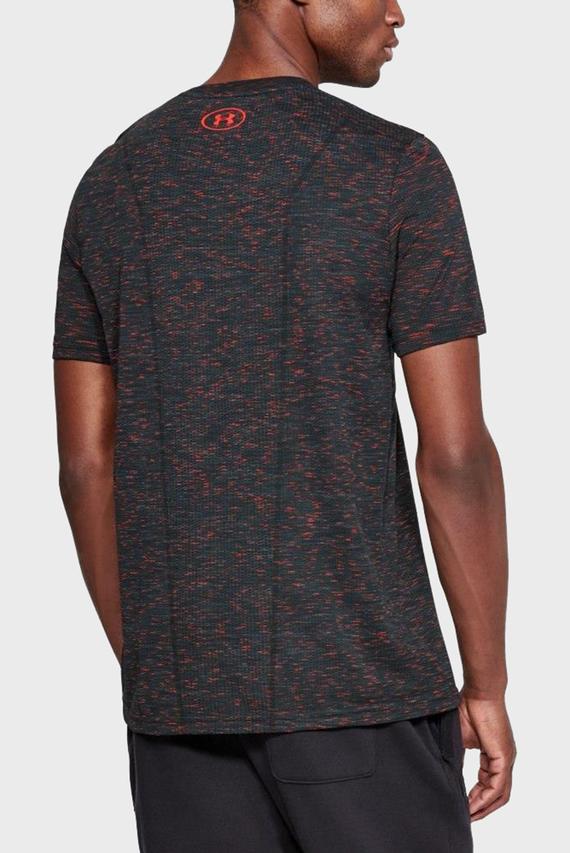 Мужская темно-серая футболка UA THREADBORNE SEAMLESS SS