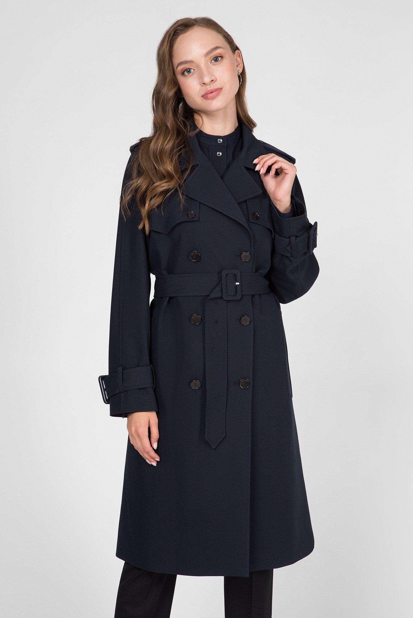 Женский темно-синий тренч Calvin Klein K20K200917 — MD-Fashion, баркод 8719851429916