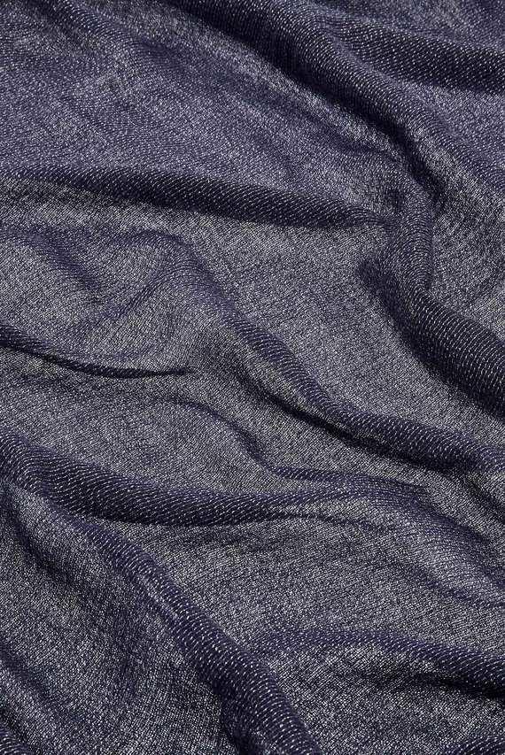 Женский синий шарф ALL OVER METALLIC