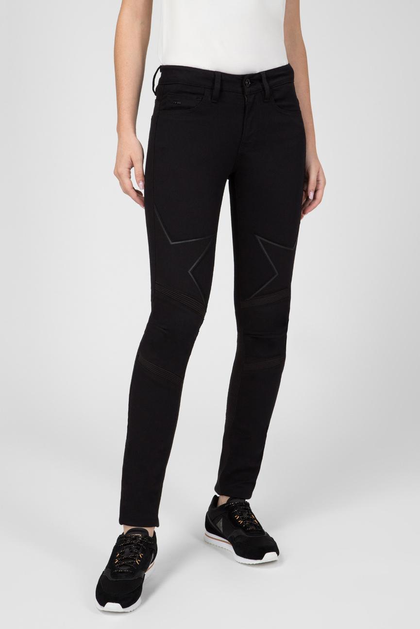 Женские черные джинсы Motac DC 3D Mid Skinny