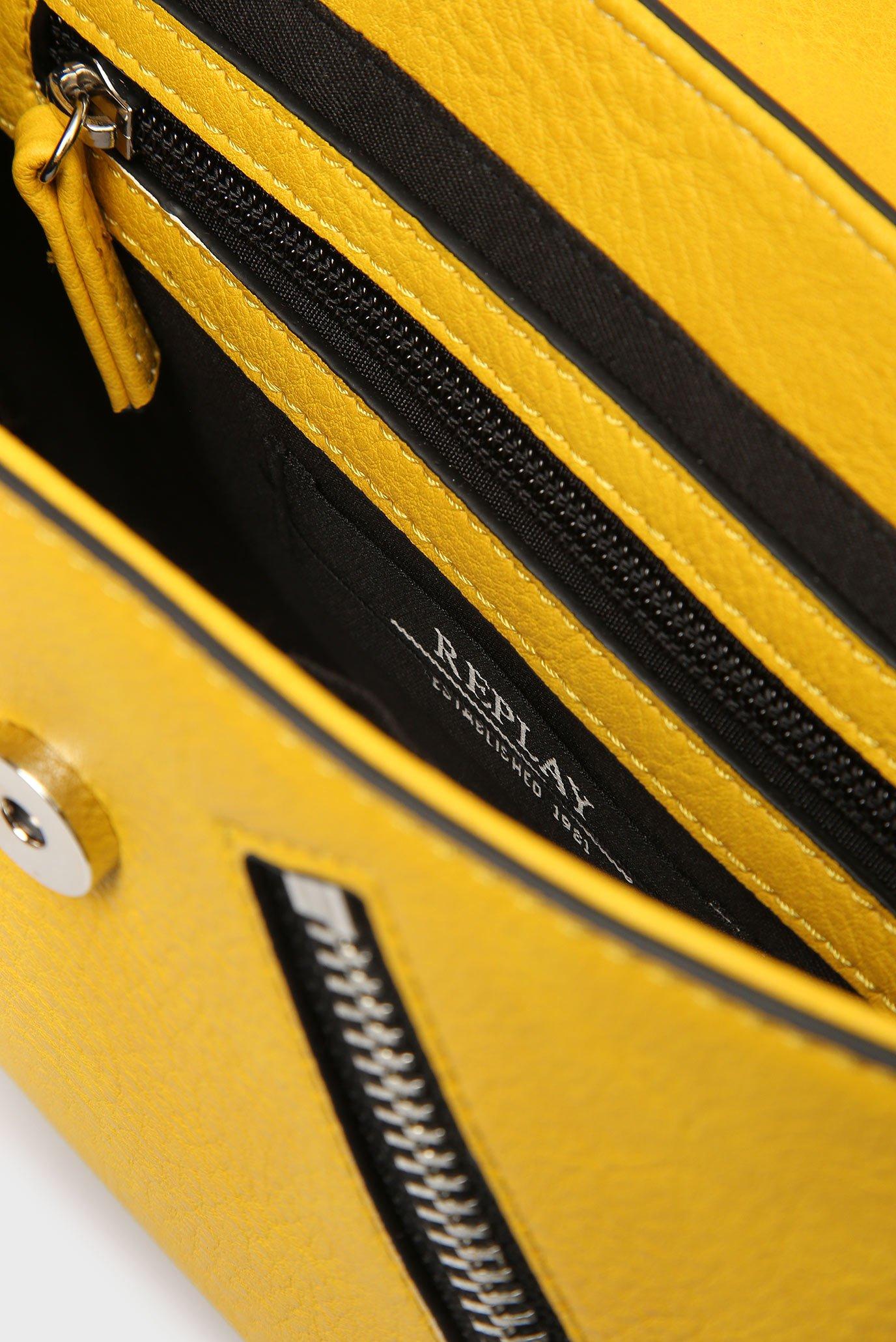 Женская желтая сумка через плечо Replay