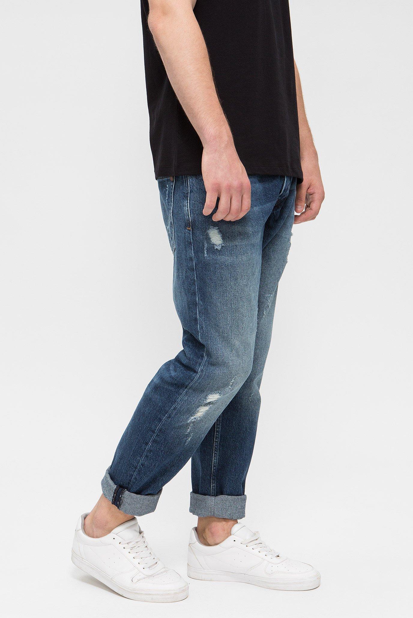 Купить Мужские синие джинсы MALTON Pepe Jeans Pepe Jeans PM202375CI12 – Киев, Украина. Цены в интернет магазине MD Fashion