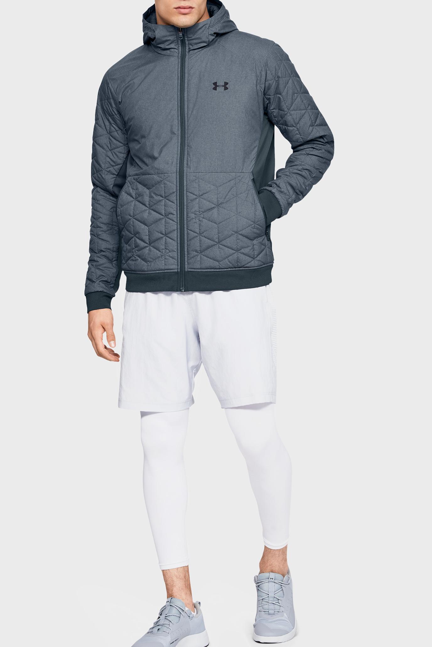 Мужская серая куртка CG Reactor Performance Hybrid Under Armour
