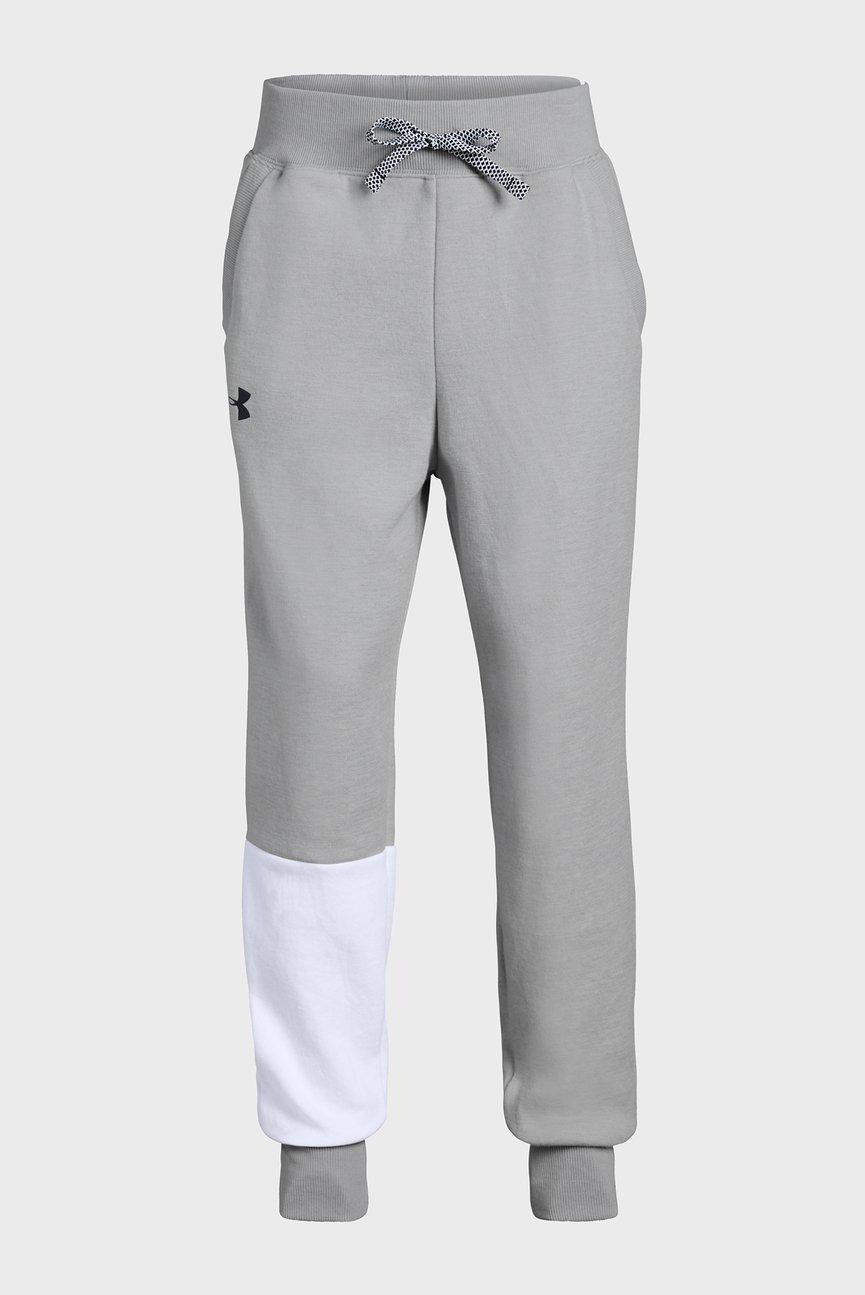 Детские серые спортивные брюки Unstoppable Double Knit Jogg