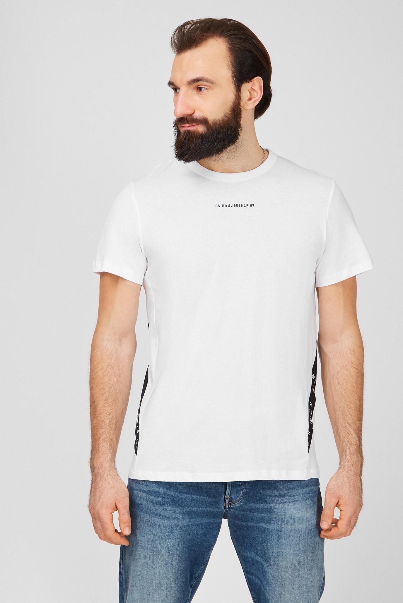 Мужская белая футболка Sport 1
