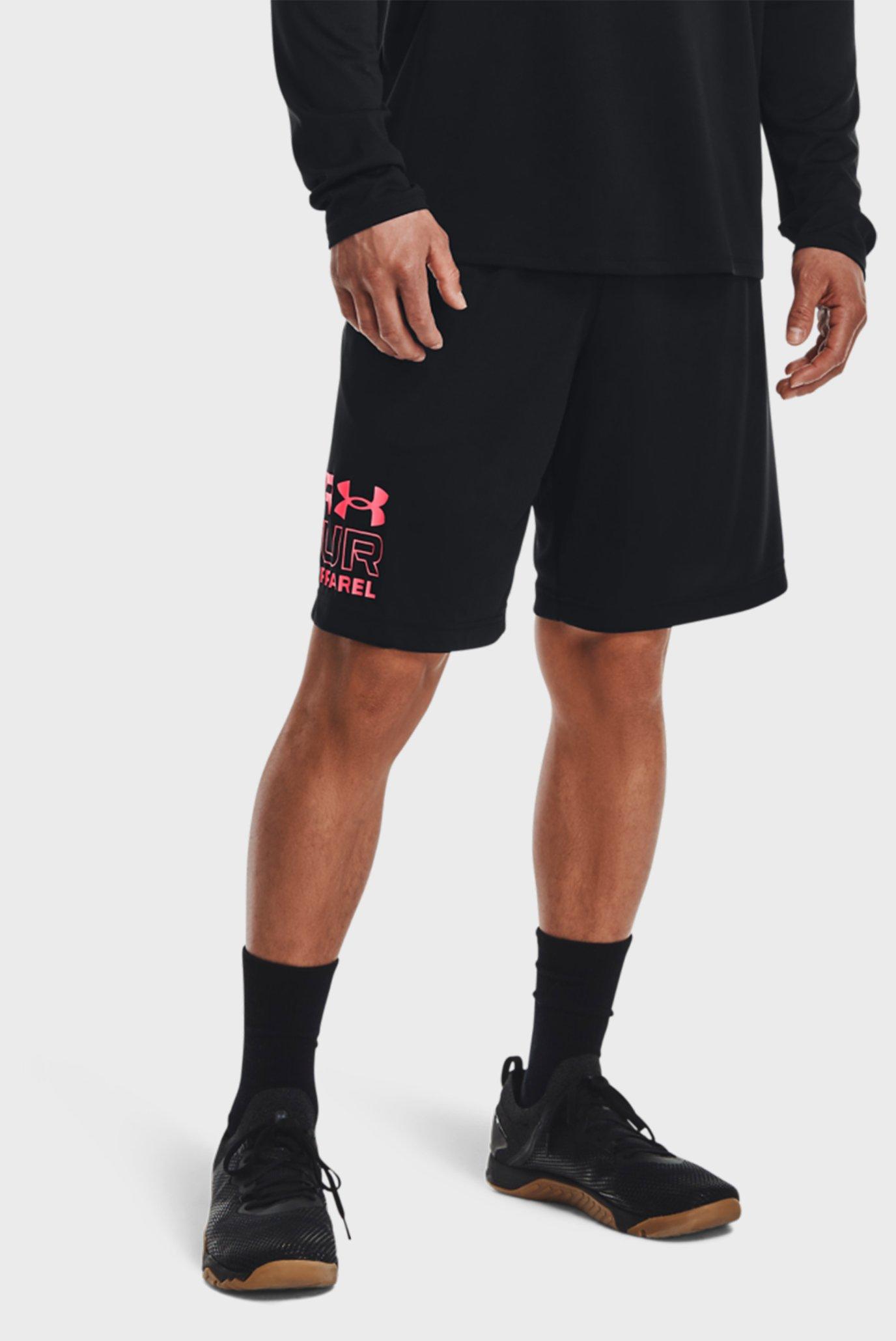 Мужские черные шорты UA Tech Graphic WM Shorts 1