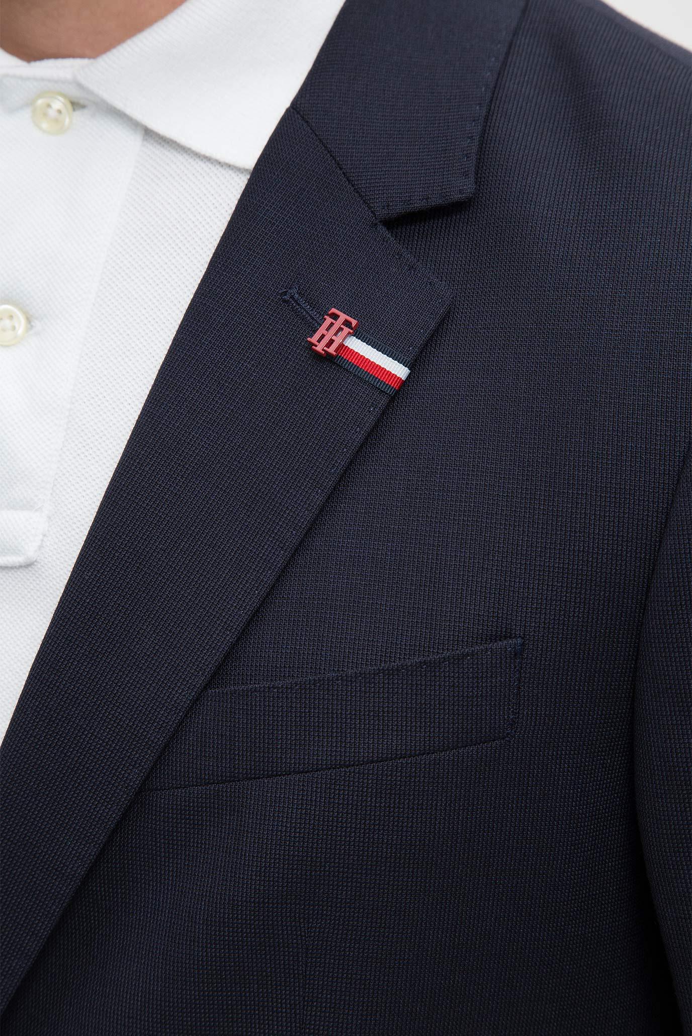 Купить Мужской темно-синий пиджак Tommy Hilfiger Tommy Hilfiger TT0TT02317 – Киев, Украина. Цены в интернет магазине MD Fashion