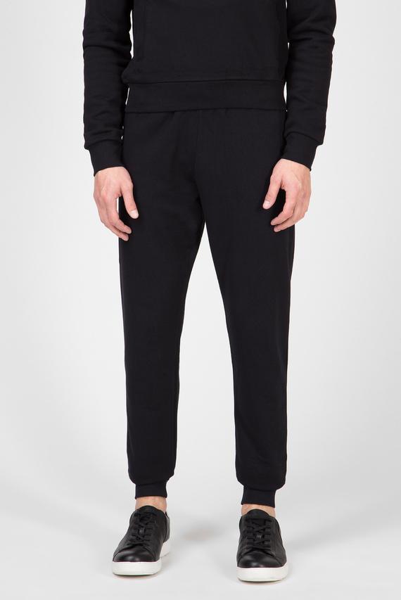 Мужские черные спортивные брюки REGULAR FIT