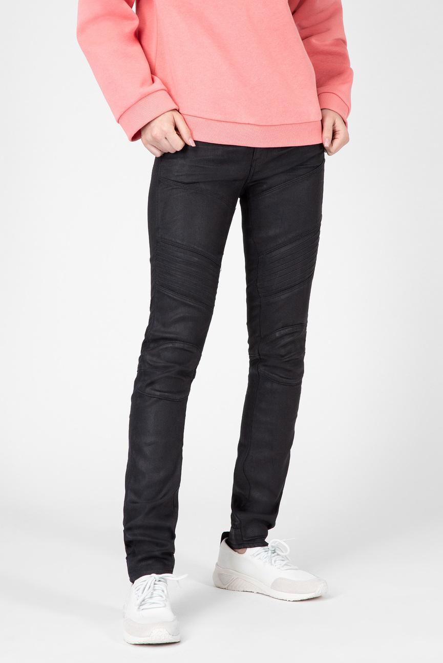 Женские черные джинсы 5620