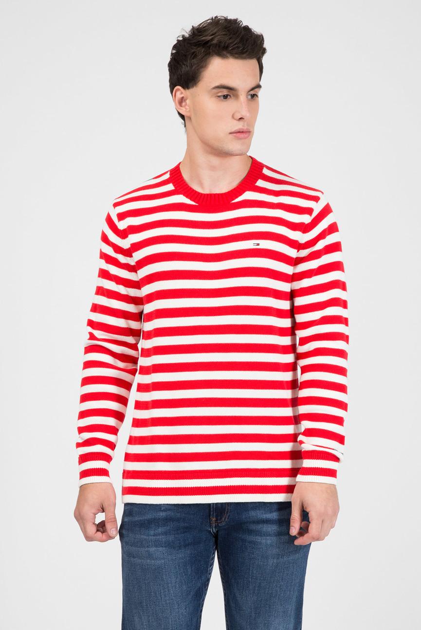 a02aba34d69d9 Oodji Мужской синий пуловер 499 грн 250 грн. Мужской красный джемпер в  полоску