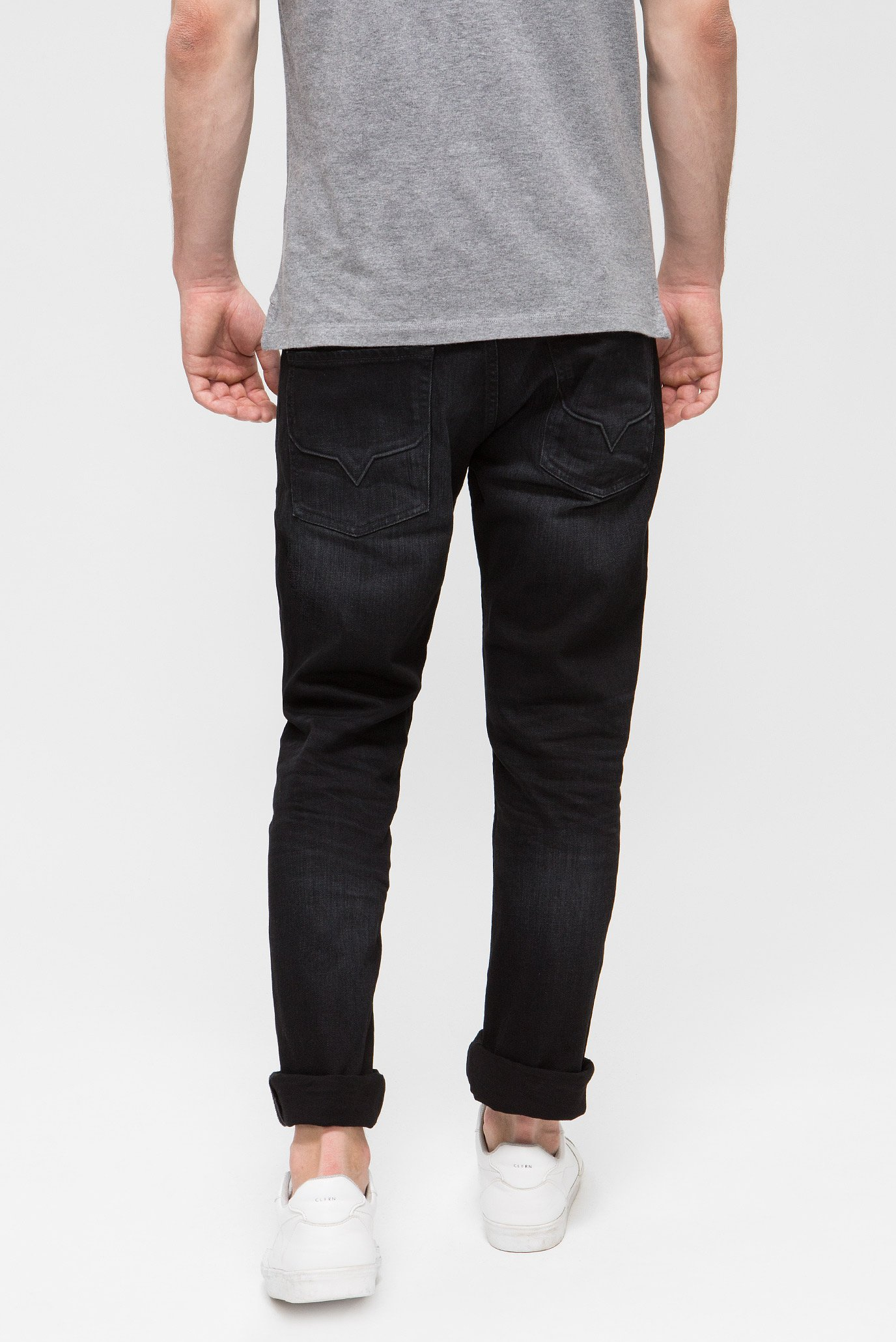 Купить Мужские черные джинсы CASH Pepe Jeans Pepe Jeans PM200124WC42 – Киев, Украина. Цены в интернет магазине MD Fashion