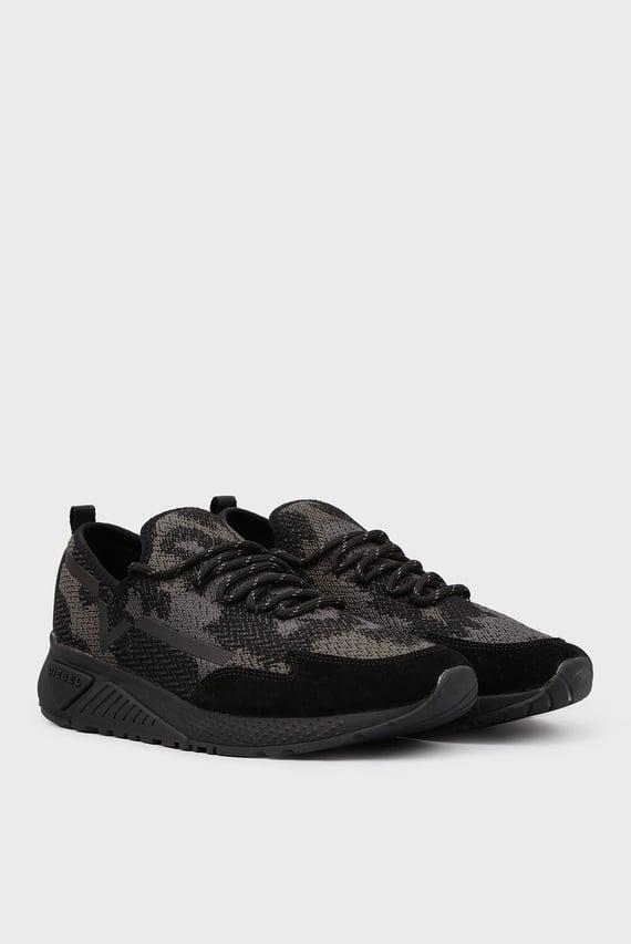 Мужские черные камуфляжные кроссовки (disabled for color code resolve)