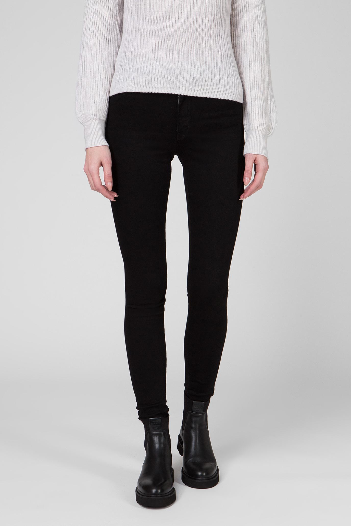Жіночі чорні джинси SKINNY SUPER STRETCH 1