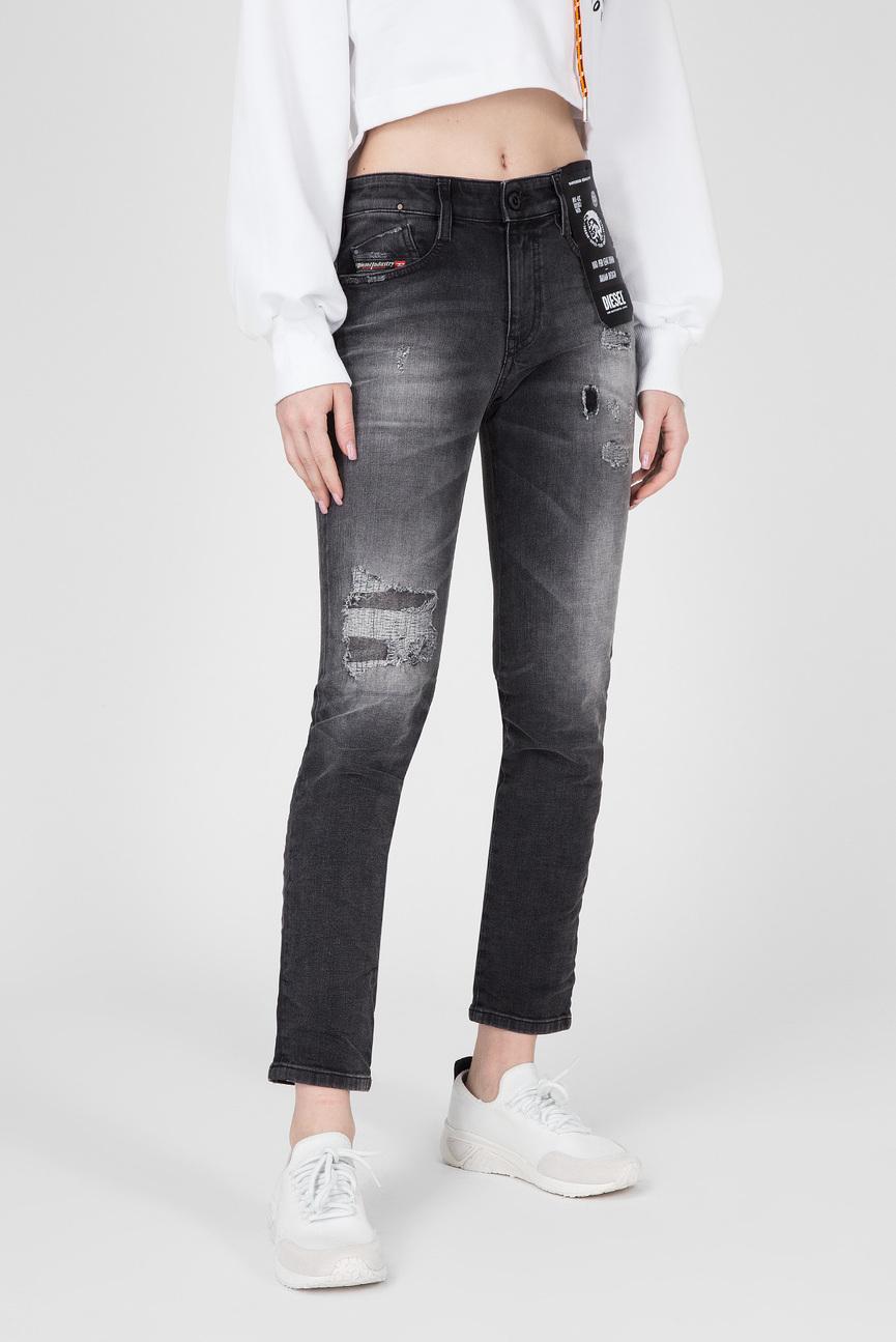 Женские черные джинсы D-RIFTY