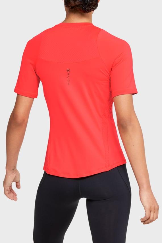 Жіноча червона спортивна футболка UA Rush SS
