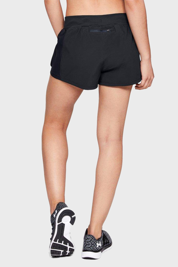 Женские черные шорты UA Speedpocket Run Short
