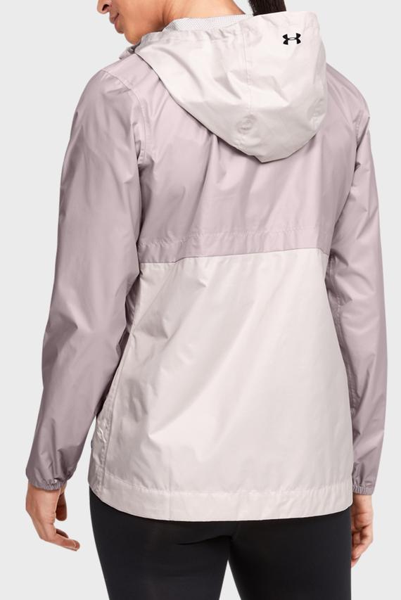 Женская розовая ветровка UA CLOUDBURST SHELL