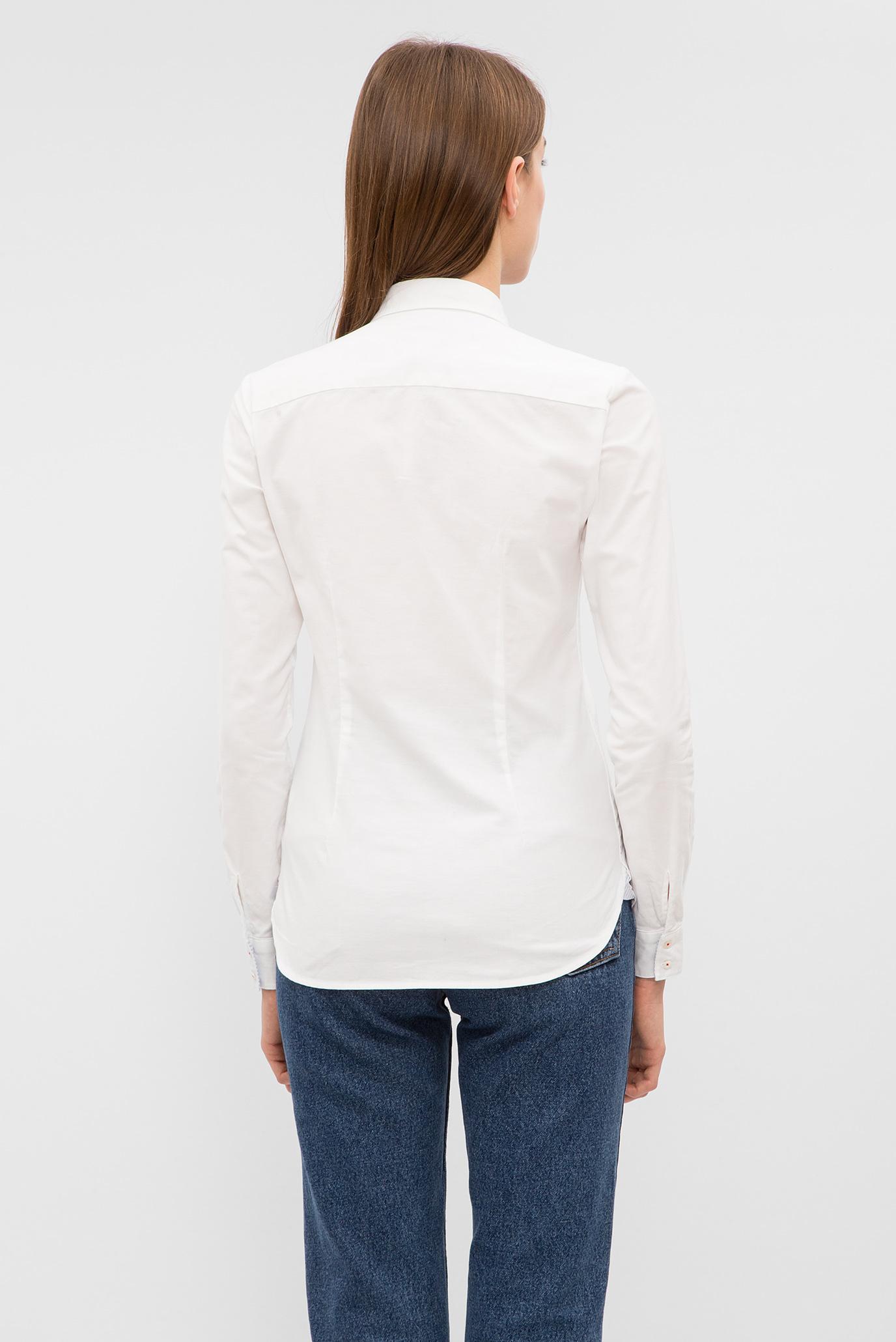 Купить Женская белая рубашка Tommy Hilfiger Tommy Hilfiger WW0WW20538 – Киев, Украина. Цены в интернет магазине MD Fashion